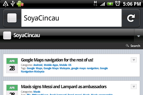 Mozilla Fennec available for Android download