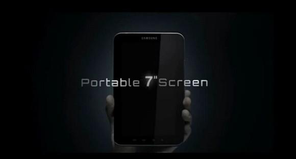 VIDEO: Samsung Galaxy Tab official teaser