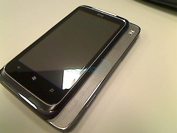 Upcoming HTC Windows Phone 7 device leaked