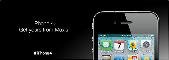 Maxis outs iPhone 4 plans