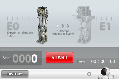 Honda ASIMO — there's an app for that
