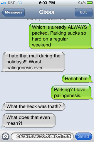 When auto-correct comes to help, hilarity ensues