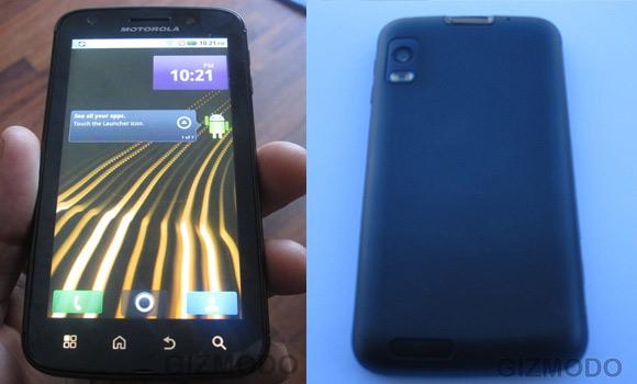 Motorola Olympus photos appears from Gizmodo