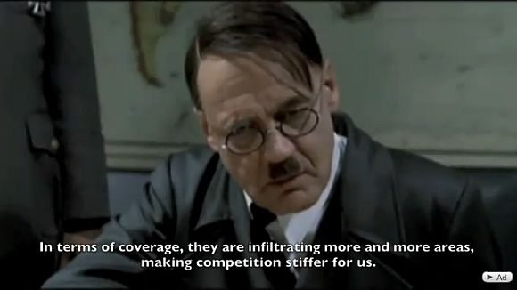 P1 4G gets hilarious Hitler meme treatment