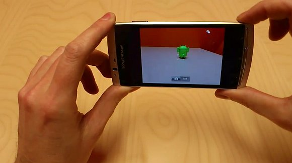 VIDEO: Sony Ericsson Xperia arc camera interface and sample video