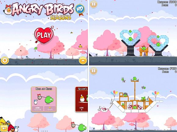 Angry Birds Valentine's edition coming