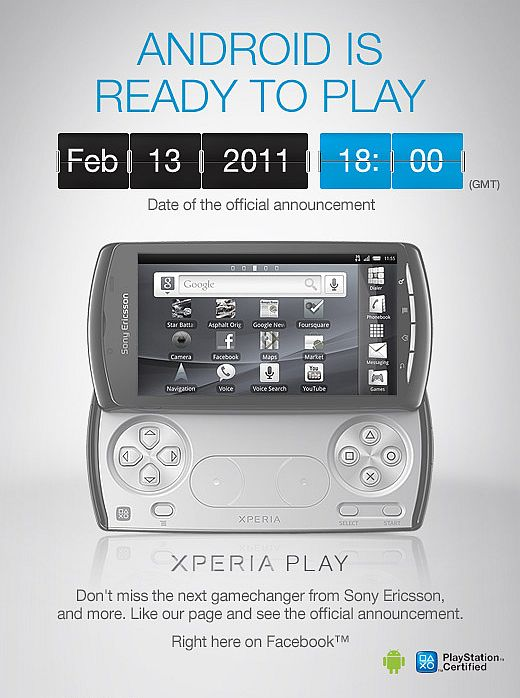 Sony Ericsson Xperia Play gets an official launch date and you're invited