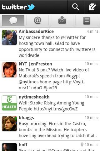 Twitter 2.0 for Android now available