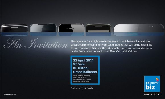 Celcom launching iPhone 4 plans this Friday