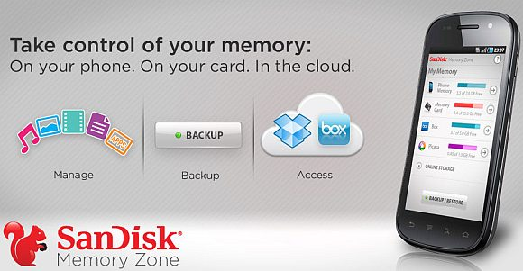 SanDisk Memory Zone for Android