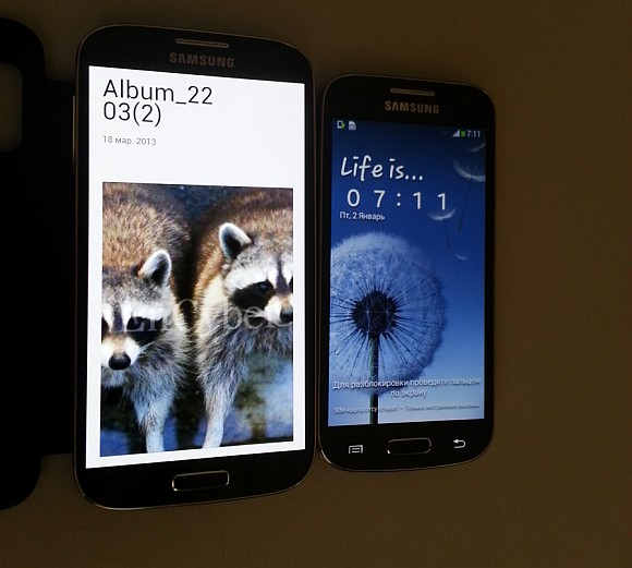 Purported Samsung Galaxy S4 Mini revealed