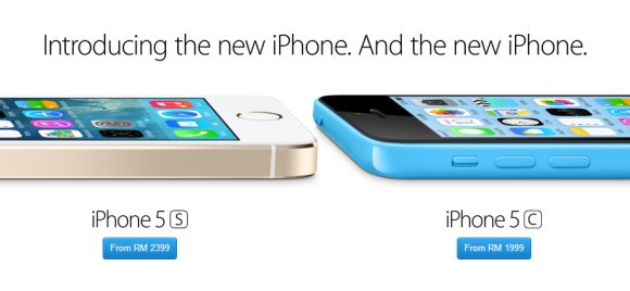 iPhone 5S/5C now available on Apple Online Store Malaysia