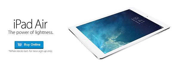 DiGi offers iPad Air from RM1,453