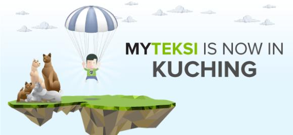 MyTeksi taxi booking service is now available in Kuching