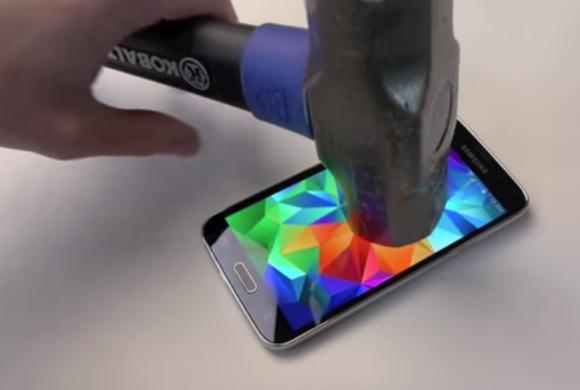 GRAPHIC: Samsung Galaxy S5 tortured to death