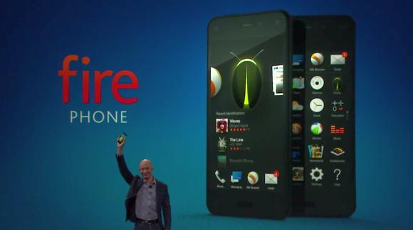 Amazon Fire Phone announced. Boasting content and head tracking capabilities