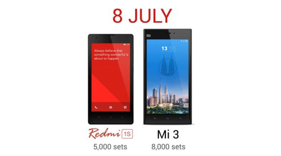 Redmi 1S goes on sale in Malaysia next Tuesday with 5,000 units