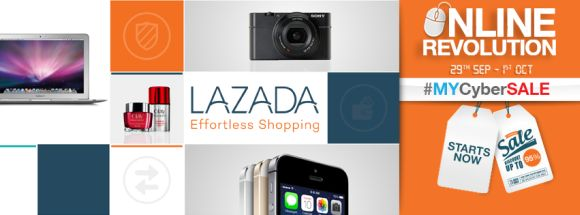 Lazada Malaysia kicks off #MyCyberSALE promo