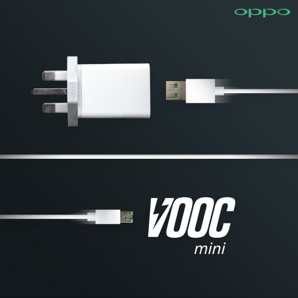 OPPO introduces new VOOC mini rapid charger