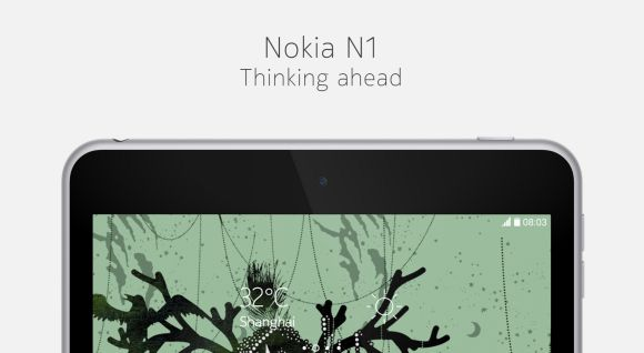 Nokia introduces a compact Android tablet called the N1