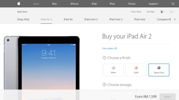 CORRECTED: iPad Air 2 and iPad mini 3 available in Malaysia soon