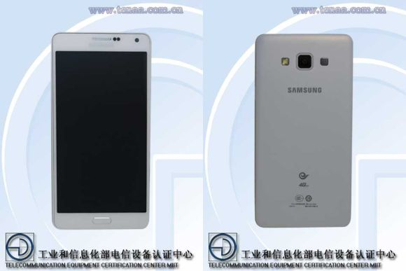 Samsung Galaxy A7 appears and it's only 6.3mm thin