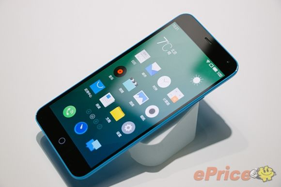 The affordable Meizu m1 Note looks an iPhone 5C phablet