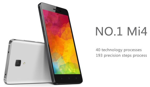 This cheap knockoff looks exactly like the Xiaomi Mi 4