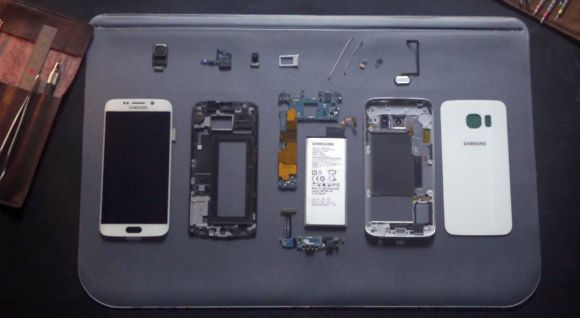Watch how the Galaxy S6 edge gets assembled from scratch to finish