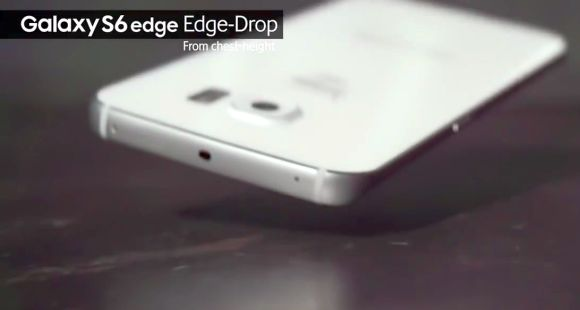 Samsung releases its own Galaxy S6 and S6 edge drop test video