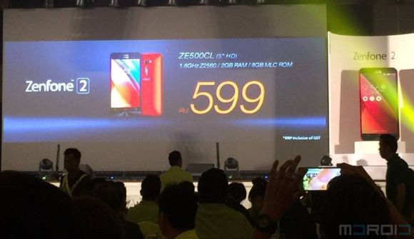 ASUS Malaysia to bring 5 variants of the ZenFone 2, priced from RM599?