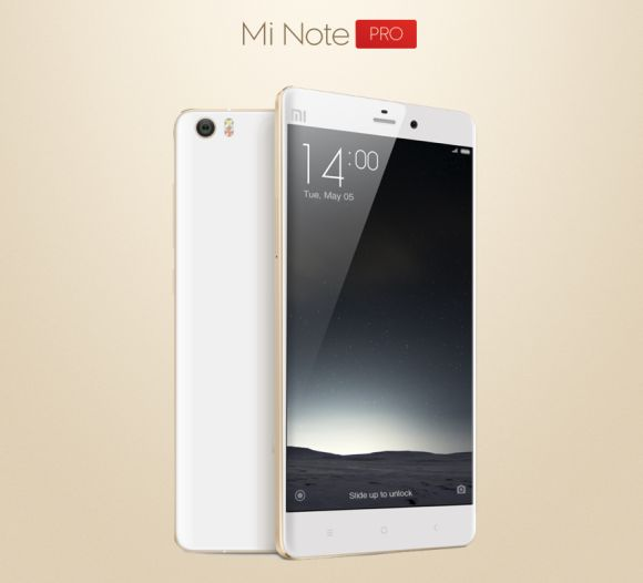 Xiaomi Mi Note Pro launched. Improved with lower price tag