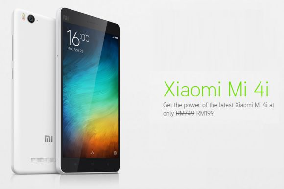 Maxis offers the Xiaomi Mi 4i from RM199