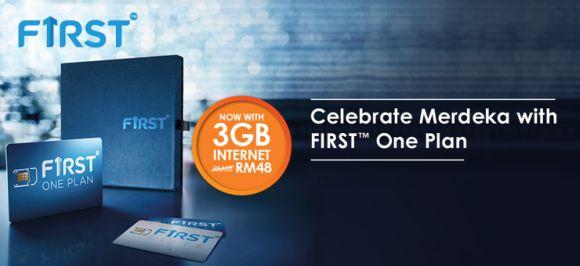Celebrate Merdeka with more Data on Celcom