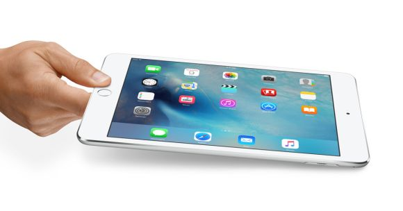The newly updated iPad mini 4 is the lightest iPad yet