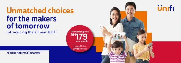 TM refreshes its broadband offering with new Unifi ADVANCE PLAN