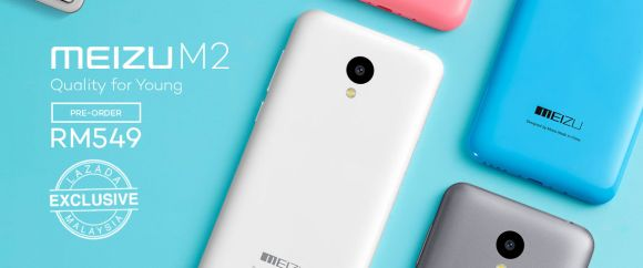 Meizu M2 now available for pre-orders in Malaysia