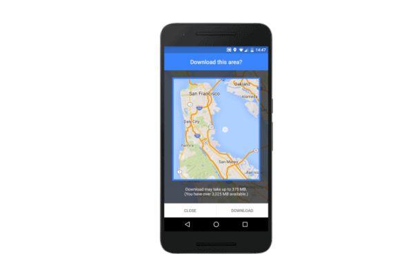 Google Maps offline hopes to eliminate 'screenshot jujitsu'
