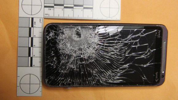 Saved by a Samsung