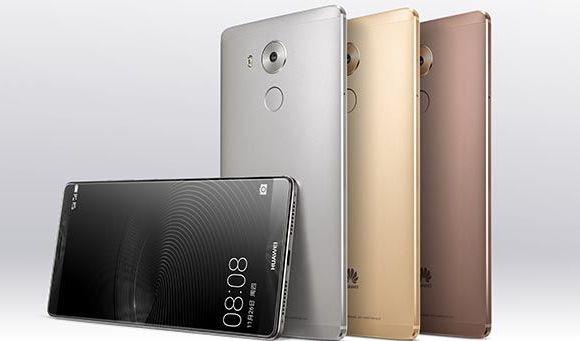 Huawei Mate 8 renders leaked: Near bezel-less screen