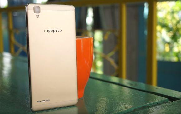 This is what the OPPO F1 smartphone looks like