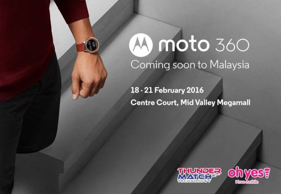 Get Moto 360 at half price during its official Malaysian launch this Thursday