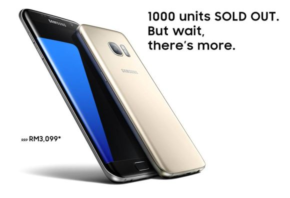 Samsung Malaysia to start another round of Galaxy S7 edge pre-order