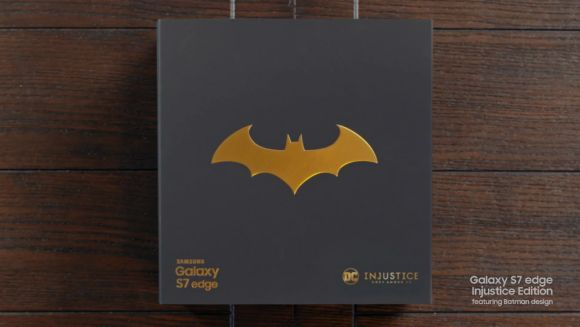Batman inspired Samsung Galaxy S7 edge Injustice Edition is now official