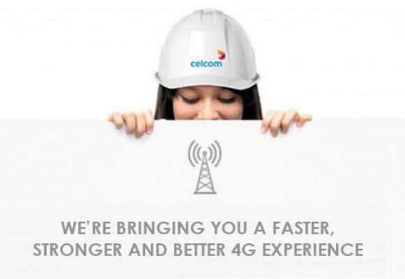 Customers may face interruptions in the next 4 months as Celcom upgrades its 4G network