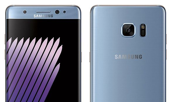 Here's another render of the Galaxy Note7 in Blue Coral