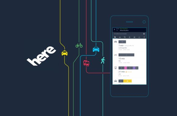 HERE Maps has a new name, new look and new features