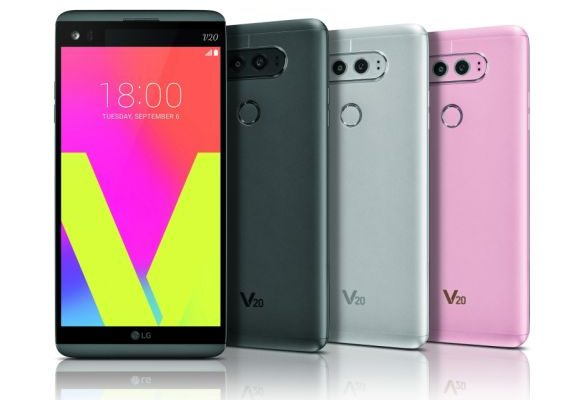 LG V20 is now official. First smartphone with Android Nougat