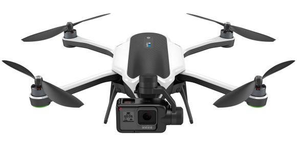 "This is Karma, GoPro's foldable drone that's ""more than a drone"""