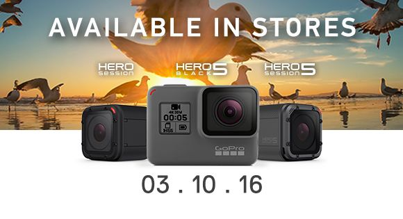 GoPro HERO5 official Malaysian pricing revealed. Here's where to get it.